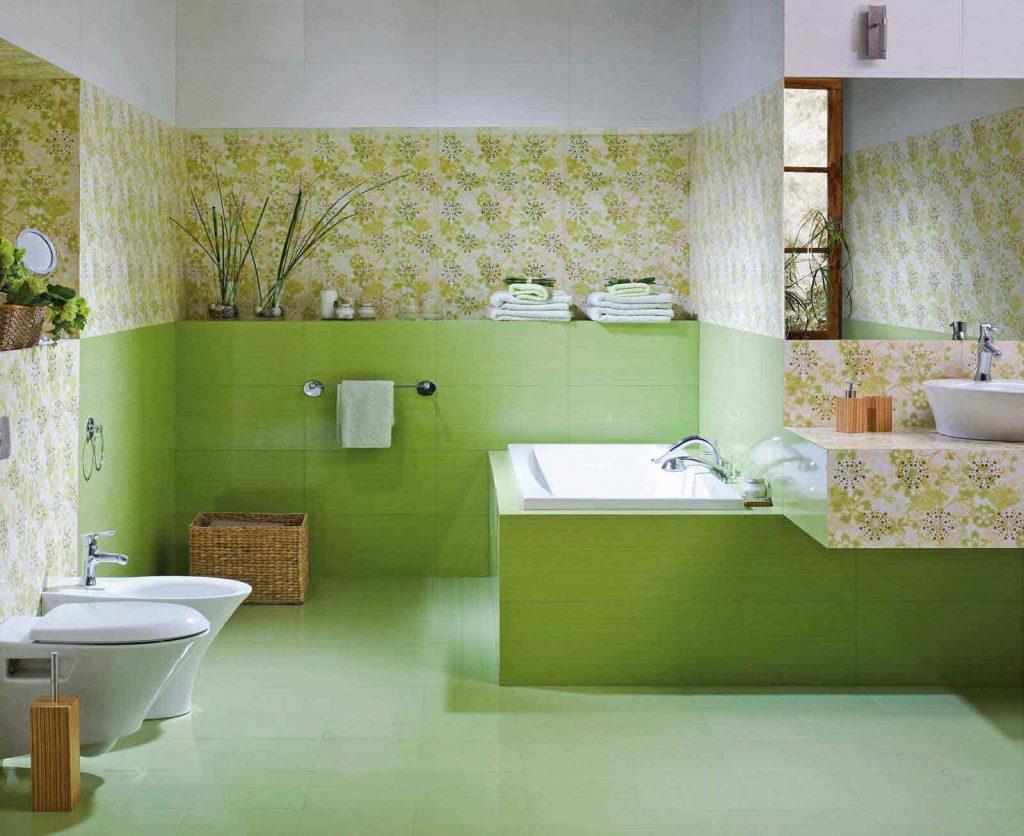 Фото современного дизайна плитки для ванной комнаты
