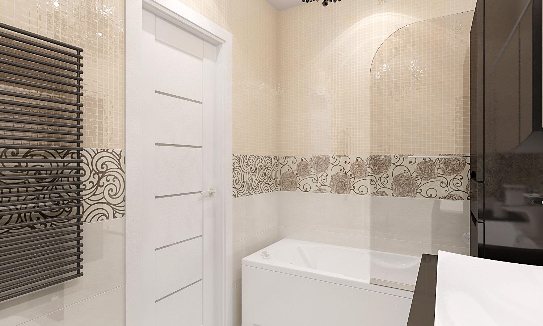 Ванная комната интерьер плитки Экран для ванны фронтальный RIHO Dimaro PG0100500000000