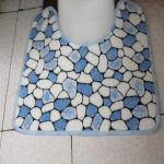 Free-Shipping-bath-mats-and-toilet-set-Waste-absorbing-slip-resistant-bathroom-mats-toilet-mat-coral