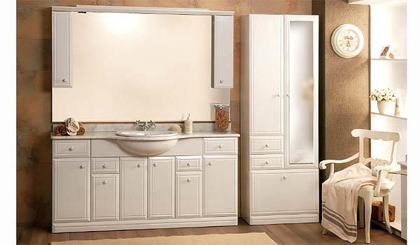 Конструкция мойдодра для дизайна светлой и просторной ванной комнаты