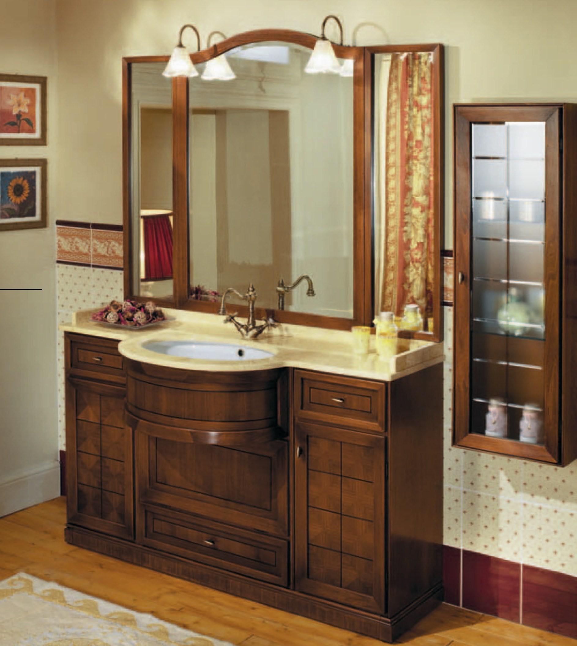 Оригинальная конструкция мойдодыра для ванной комнаты