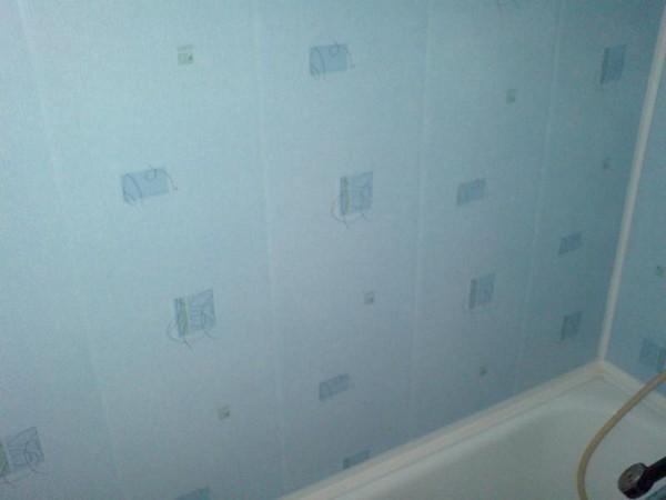 Панели пвх для маленькой ванной комнаты