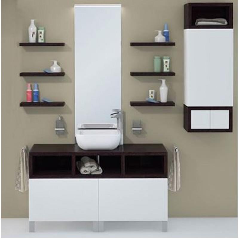 Коллекция мебели от «Акватон»  для стильной ванной комнаты в светлых приглушенных тонах