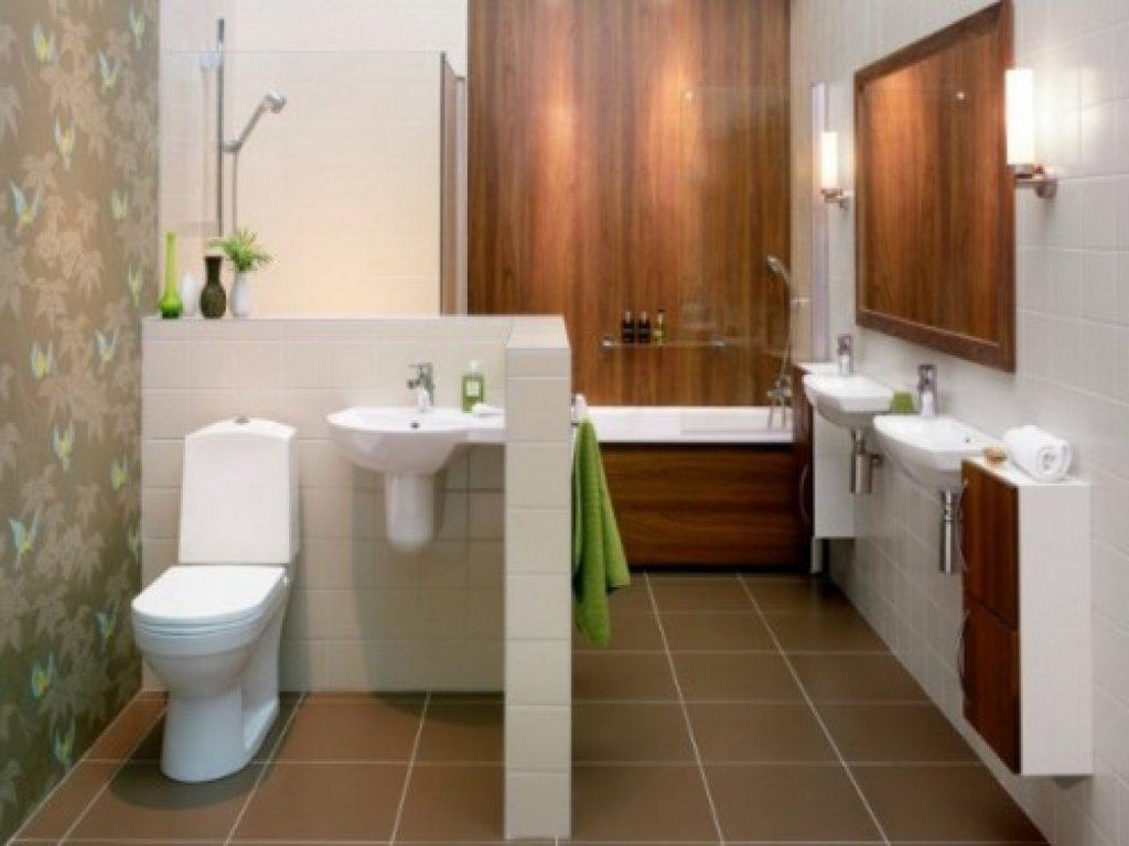 Модное решение в дизайне для ванной комнаты и туалета