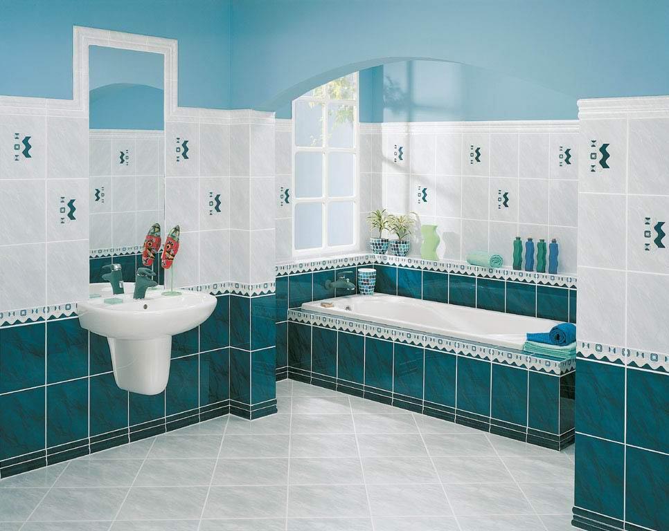 Преимущества плитки разных оттенков для ванной комнаты