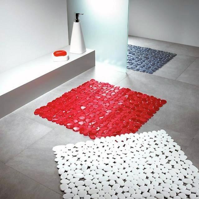 Оригинальные коврики для ванной комнаты с ярким дизайном