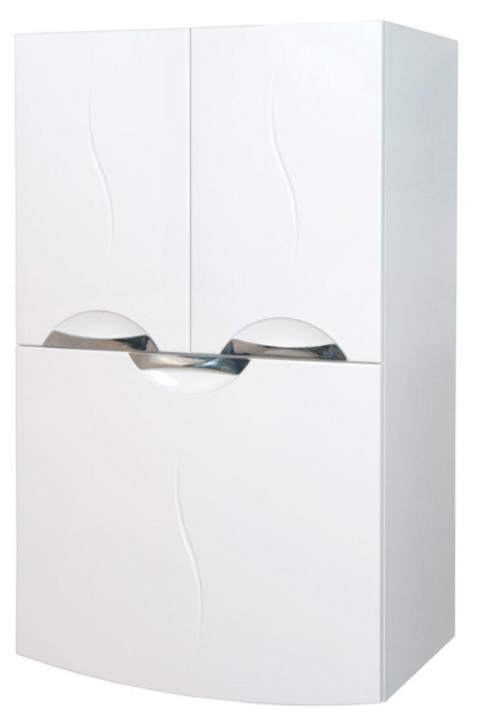 Современный оригинальный дизайн белого навесного шкафа для ванной комнаты