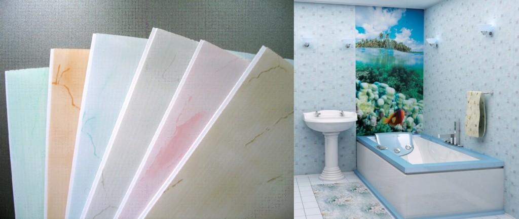 """фото ванных комнат из пластиковых панелей """" Все о креативном дизайне"""
