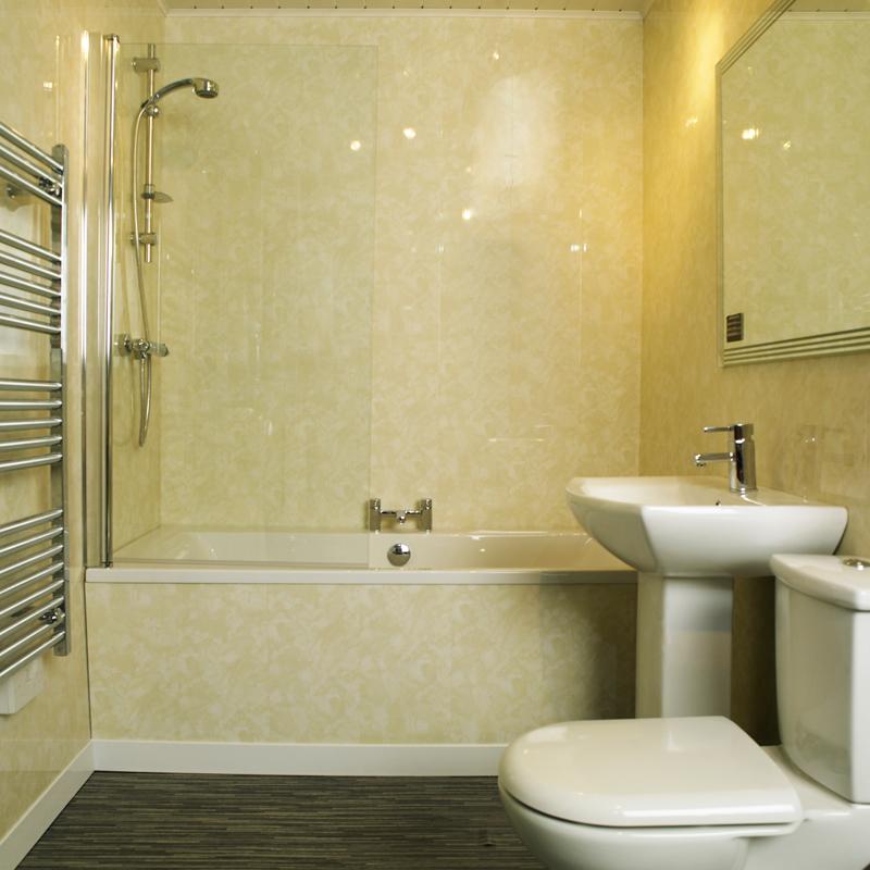 Преимущества панелей пвх спокойных тонов для ванной комнаты