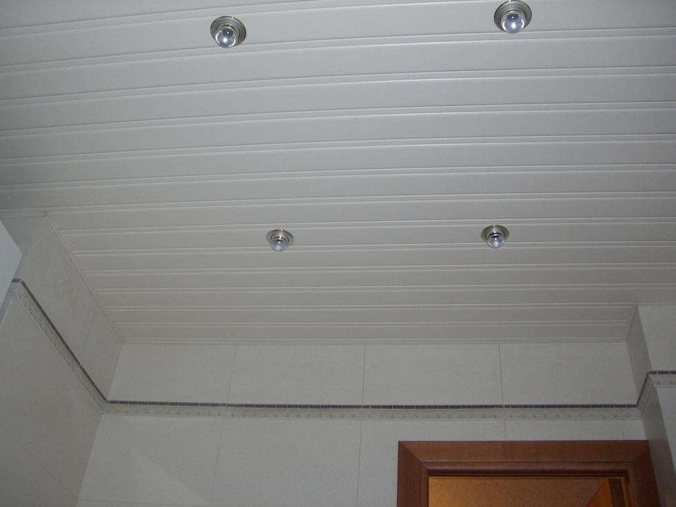 Реечный потолок с точечной диодной подсветкой