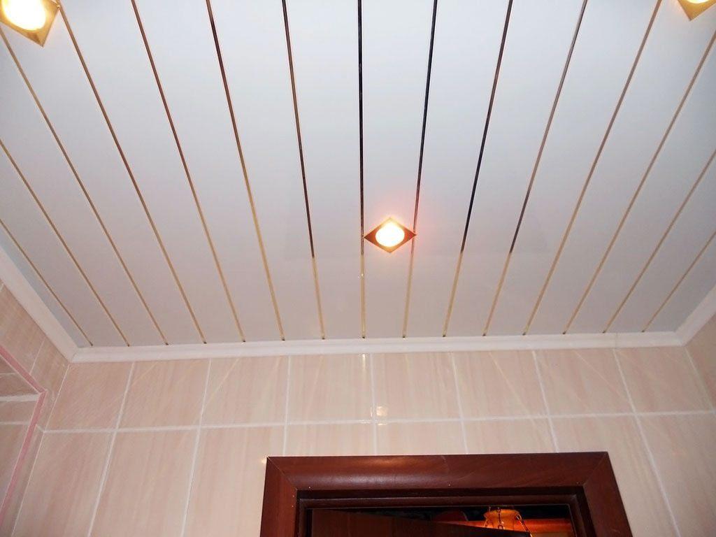 Дизайн реечного потолка с использованием потайной подсветки