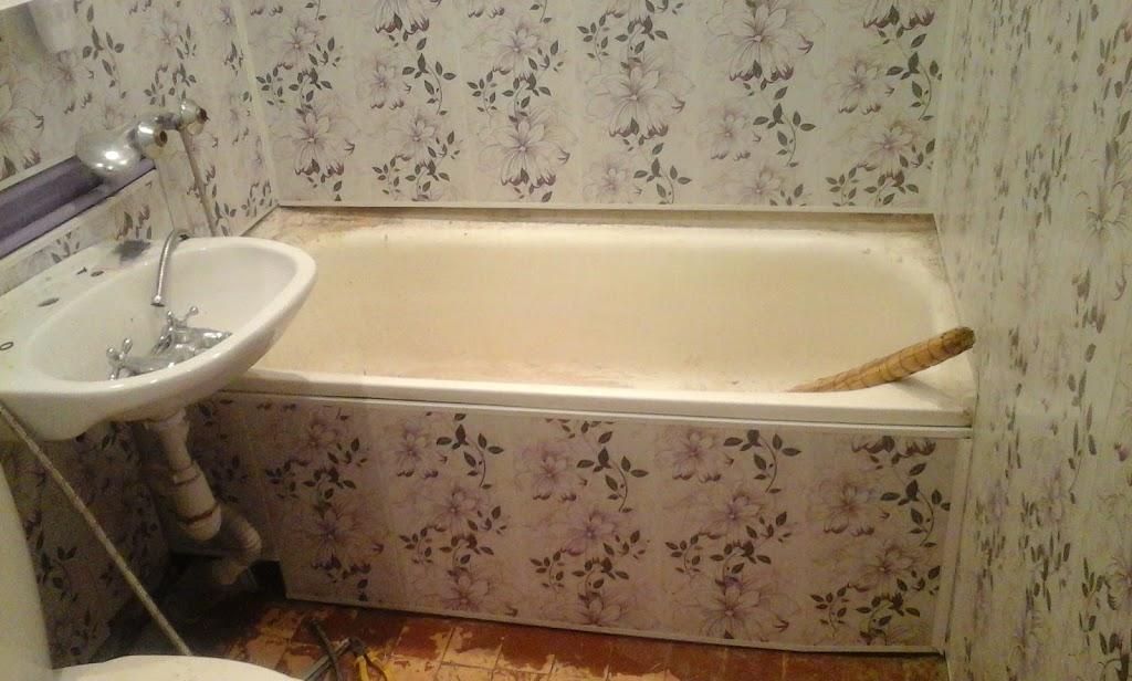 Обшить ванну пластиковыми панелями своими руками