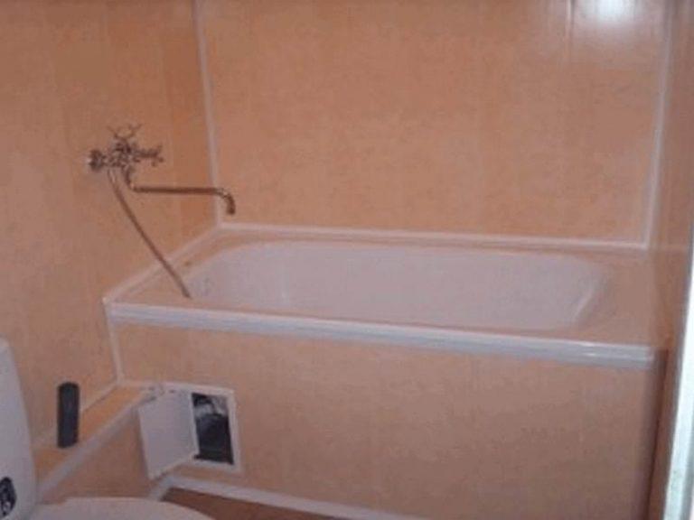 Как пластиком сделать ванну