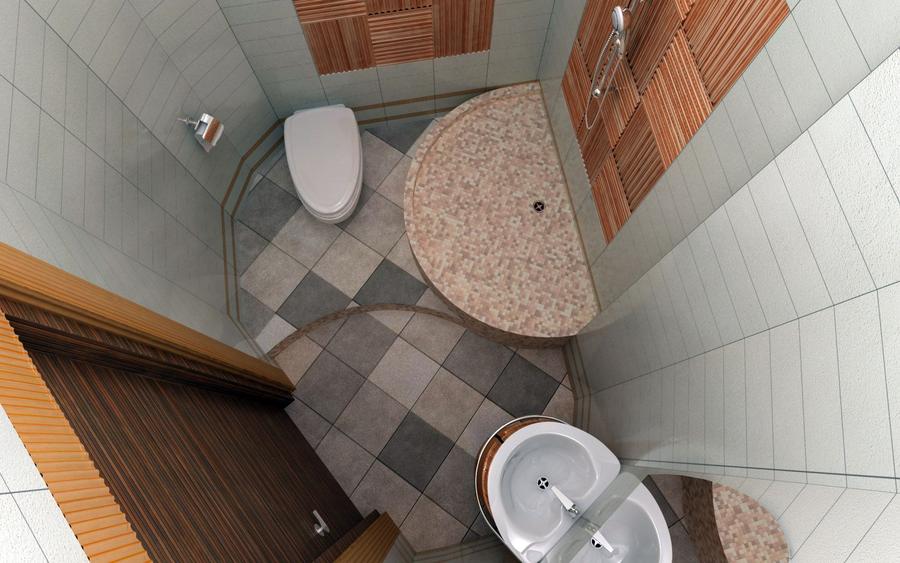Совета как провести отделку ванной комнаты плиткой контрастных оттенков
