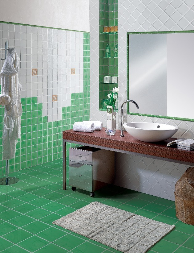 Преимущества использования современной плитки для ванной комнаты