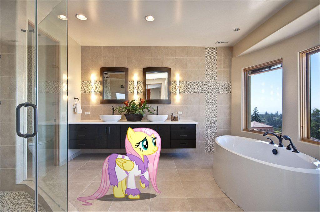 Beautiful modern master bathrooms