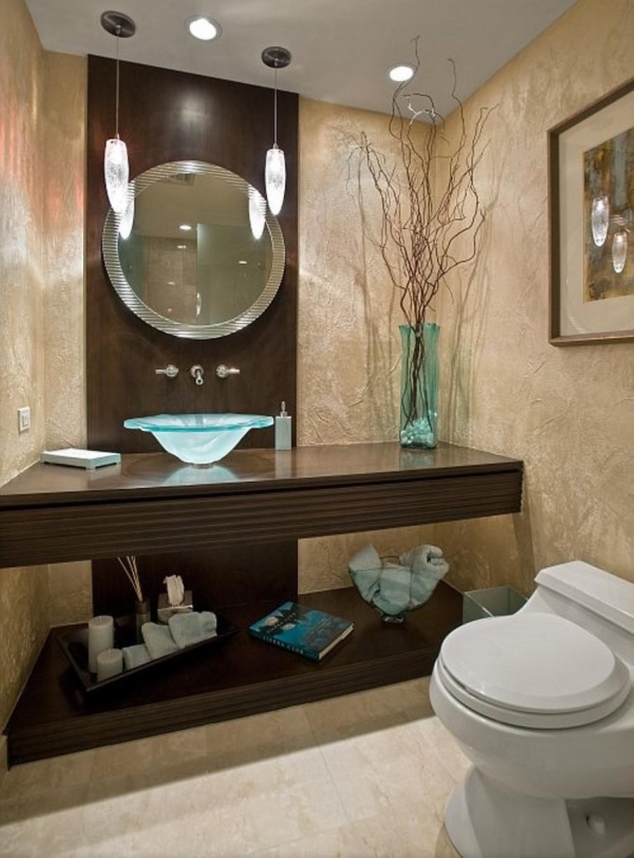 Актуальные идеи для ванной комнаты с яркими дизайнерскими акцентами
