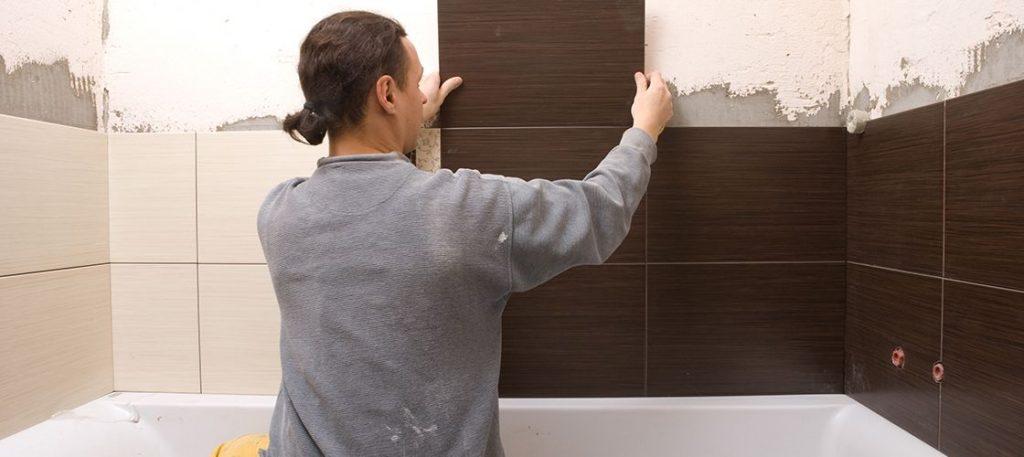 Укладка плитки в ванной комнате выполняем работы качественно своими руками