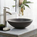 bathroom-set-round-sink-grey