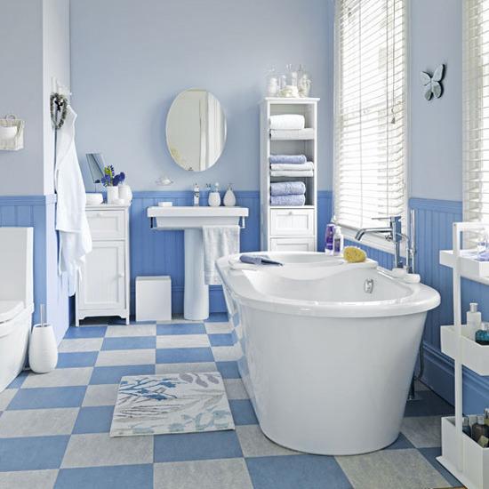 плитка в ванной комнате преимущества