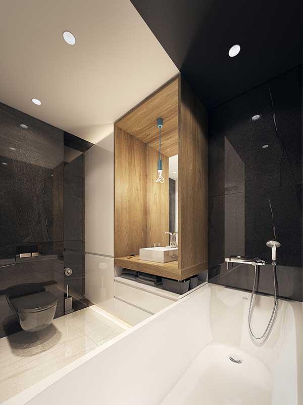 Актуальные дизайнерские решения для ванной комнаты