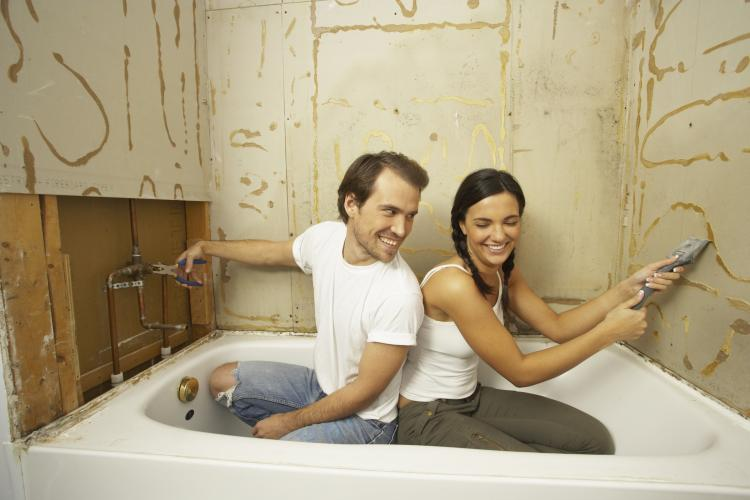 Я сам сделал ремонт в ванной