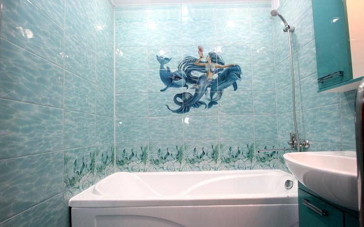 Какие бывают стеновые панели для ванной