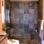 small-bath-with-walk-in-shower-natural-maple-cabinetry-slate-tile-inside-stylish-modern-bathrooms