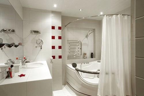 Актуальный колорит и цветовая гамма ванной комнаты фото 2016