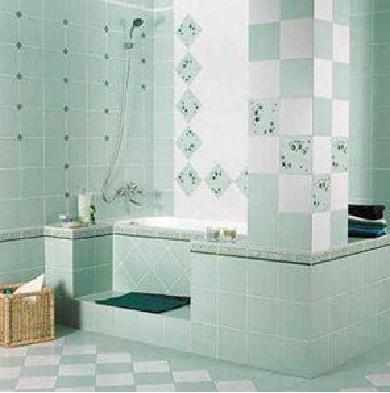 Выбор плитки для ванной комнаты