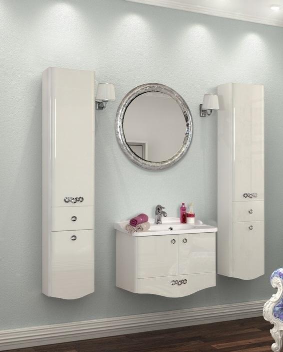 Расстановка мебели в ванной от фирмы Акватон