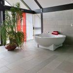 white black bathroom luxury bath