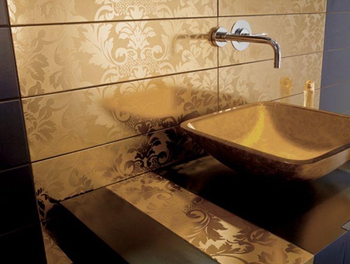 Сантехника с золотым покрытием