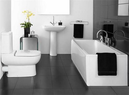 Дизайн ванной с туалетом в свете