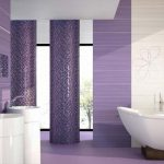Latest-modern-bathroom-tiles-with-purple-effect