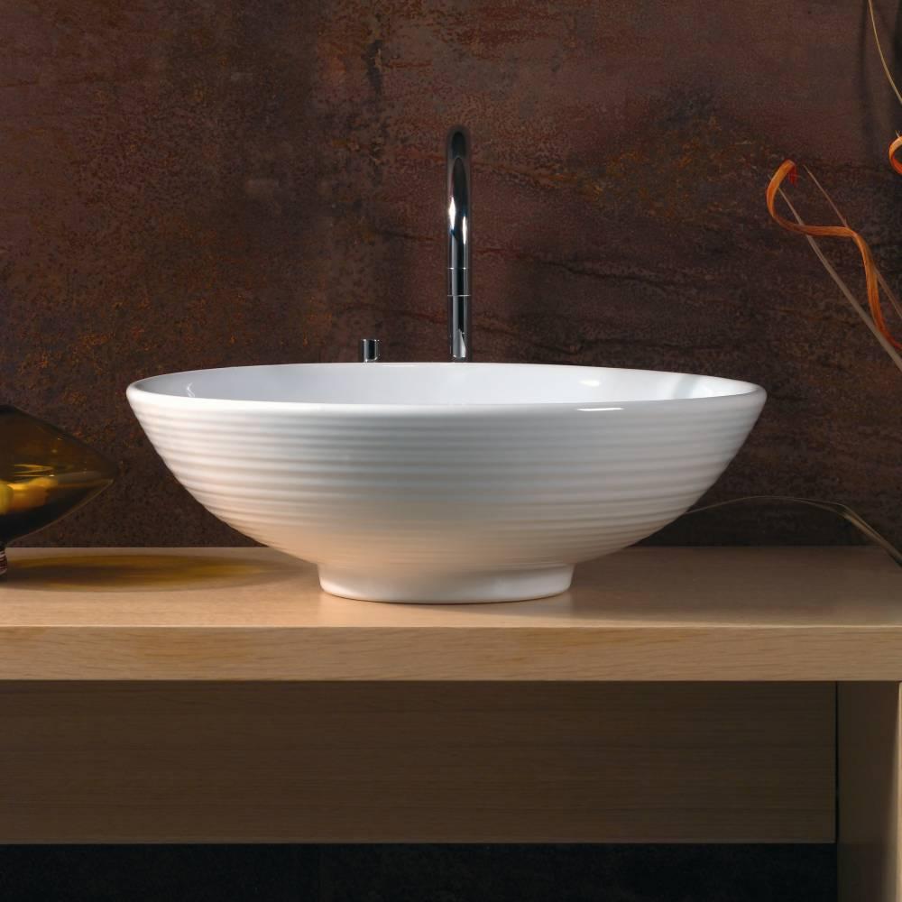 Правила выбора оригинальной накладной раковины для ванной комнаты в стиле модерн