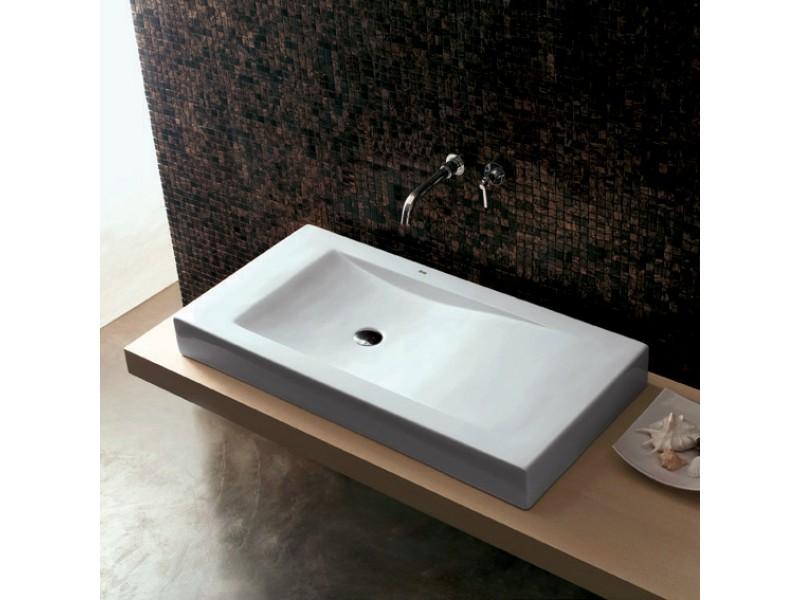 Как выбрать прямоугольную накладную раковину для современной ванной комнаты