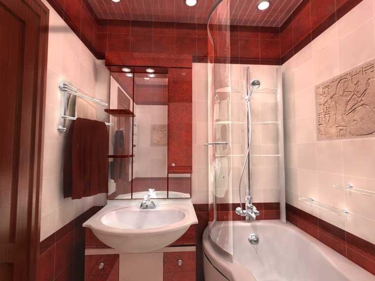 Фото ванной комнаты и туалета после ремонта