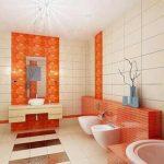 bathroom-tile-design-and-color-combinations-sunny-orange-bathroom-designs