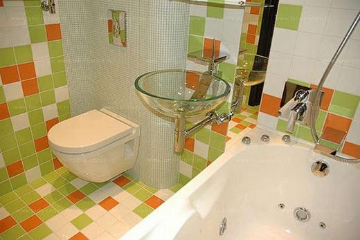 Фото ванных комнат и туалетов после ремонта