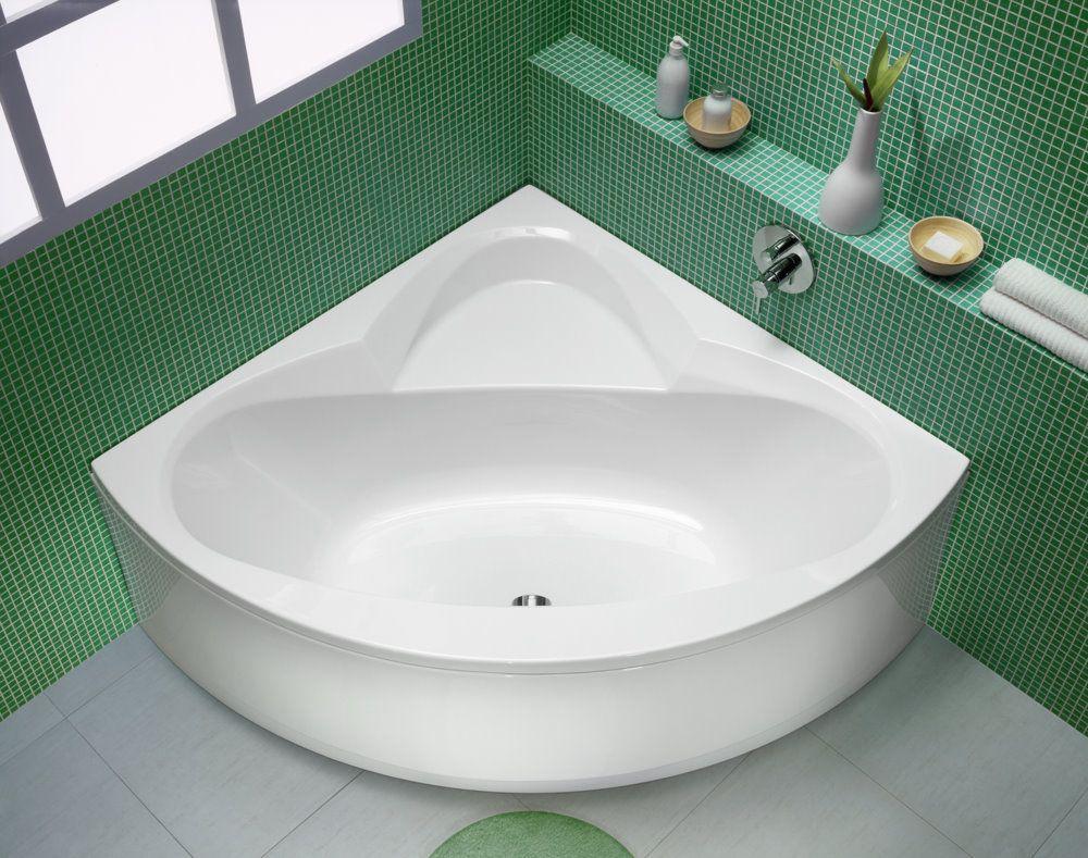 Строгий и практичный дизайн ванной комнаты