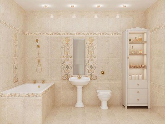 Фото классической ванной комнаты