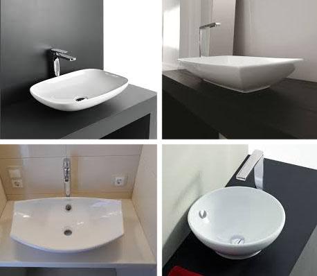 Установка раковин в ванную