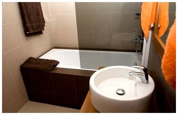 Фото малогабаритной ванной комнаты после бюджетного ремонта
