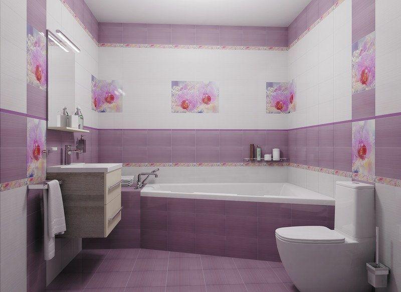 Лаконичный и практичный дизайн ванной комнаты с туалетом