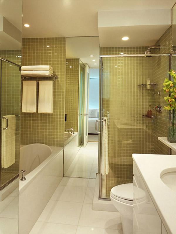 Выбор дизайна для маленькой ванной