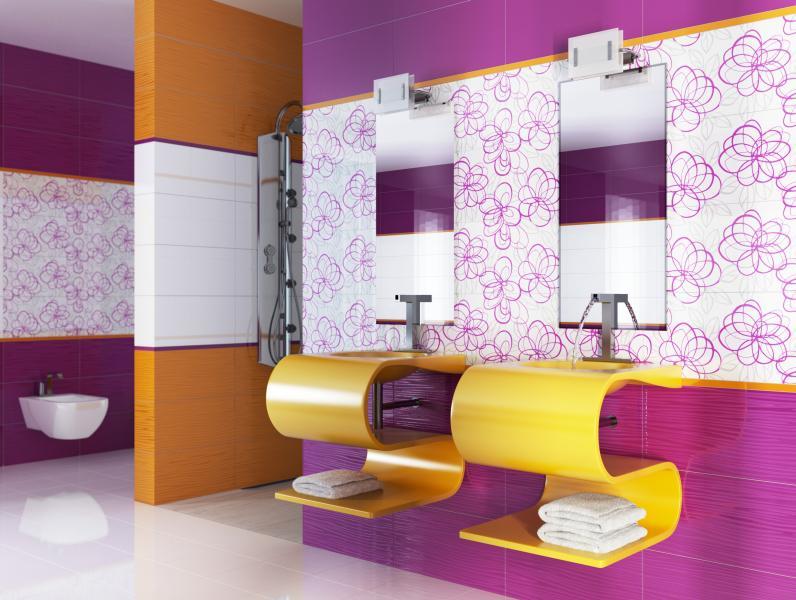 Экология в дизайне ванной комнаты