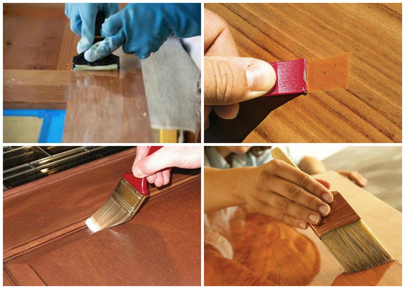 Как покрасить дерево или деревянную поверхность своими руками