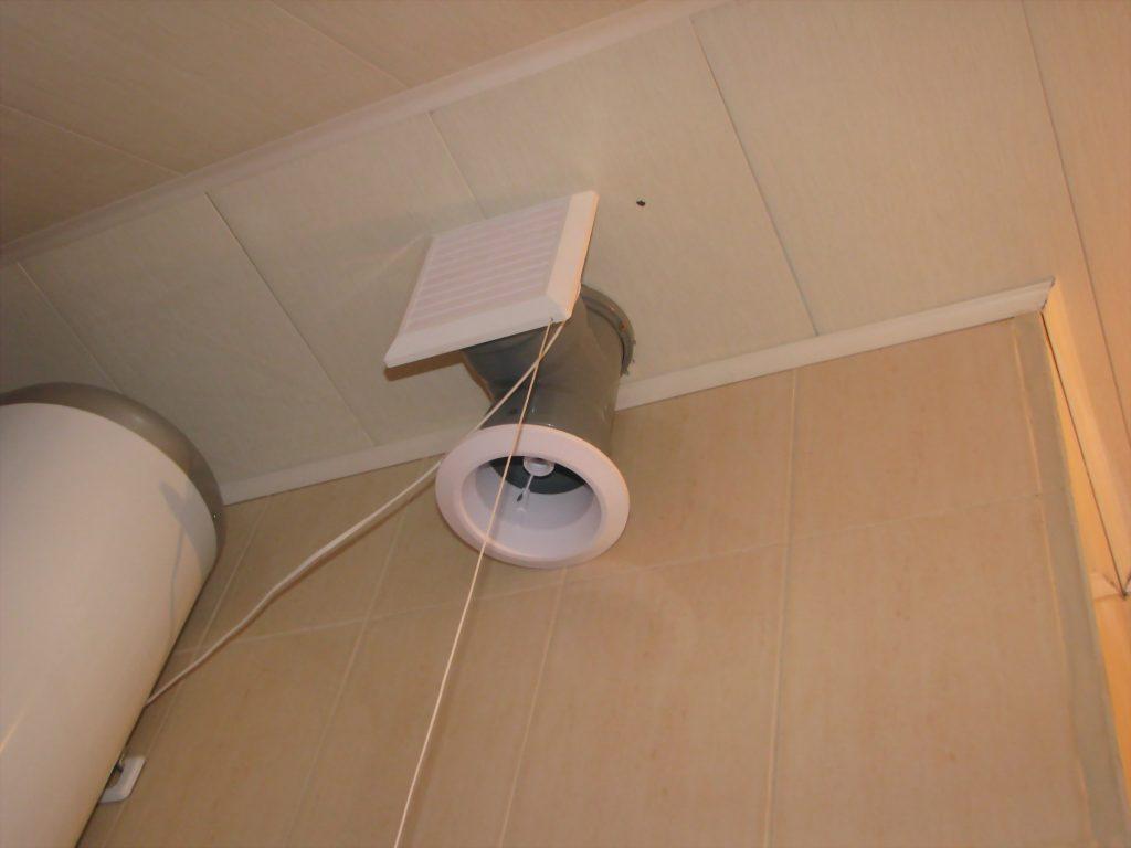 Вентиляция в ванной и туалете в квартире