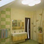 дизайн ванной в светлых тонах фото